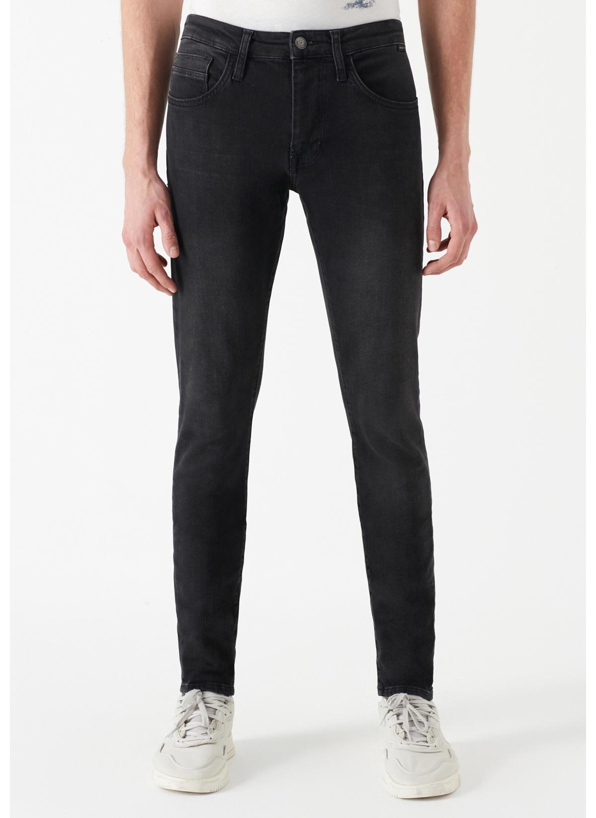 Mavi Jean Pantolon   Leo – Super Skinny 0076228604 Leo Gri Comfort Jean Pantolon – 159.99 TL